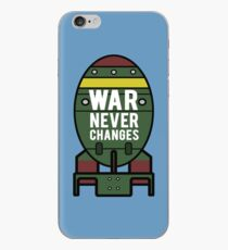 War Never Changes (Nuke) iPhone Case