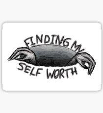 self worth Sticker