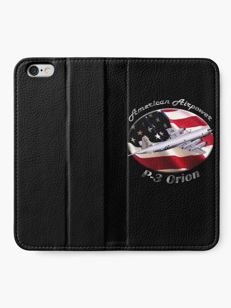 Alternate view of P-3 Orion American Airpower iPhone Wallet