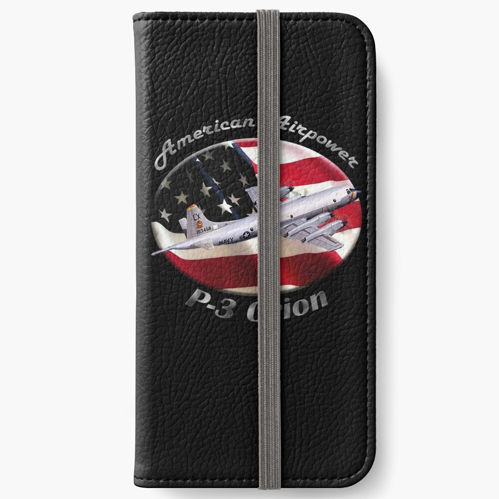 P-3 Orion American Airpower iPhone Wallet