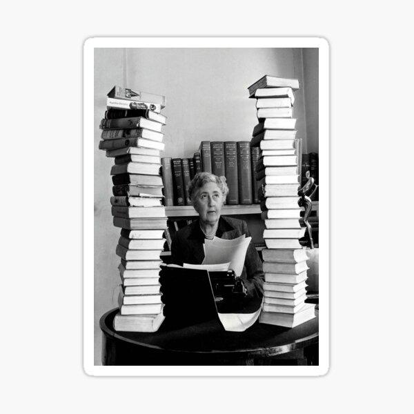 Agatha Christie Sticker