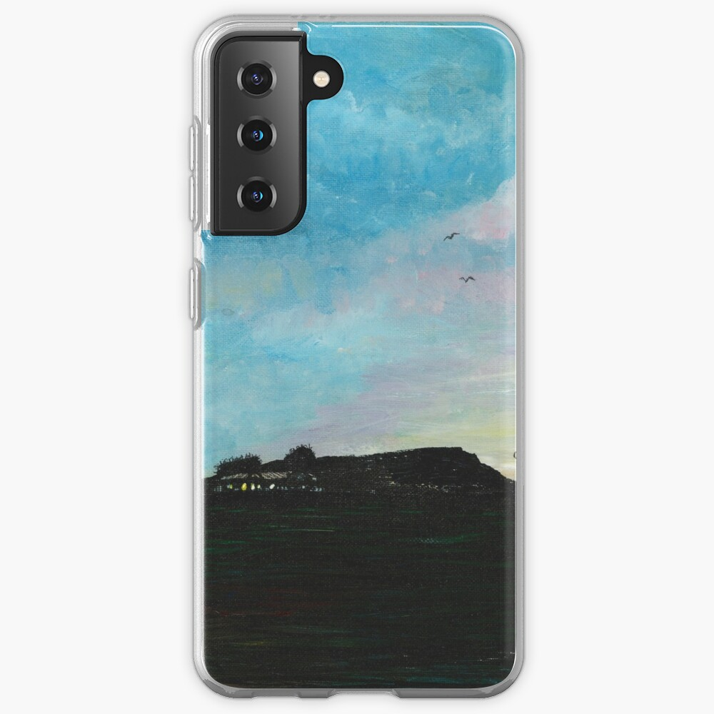 West Hill Cafe at Dusk Case & Skin for Samsung Galaxy