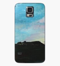 West Hill Cafe at Dusk Case/Skin for Samsung Galaxy