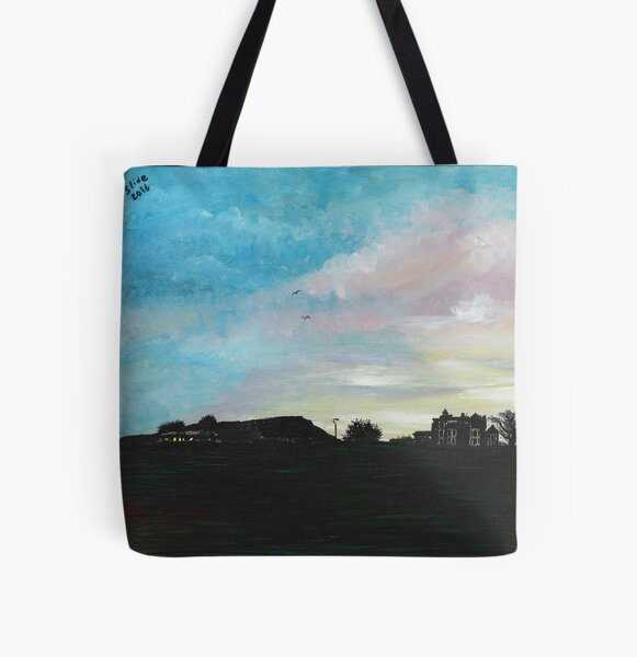 West Hill Cafe at Dusk All Over Print Tote Bag