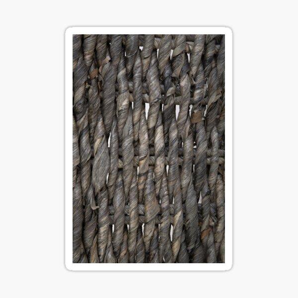 knotty woven fiber optical Sticker