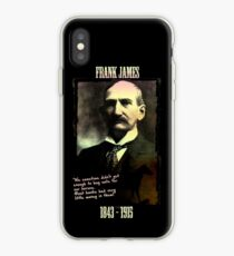 Frank James: banks are the real crooks iPhone Case