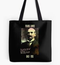 Frank James: banks are the real crooks Tote Bag