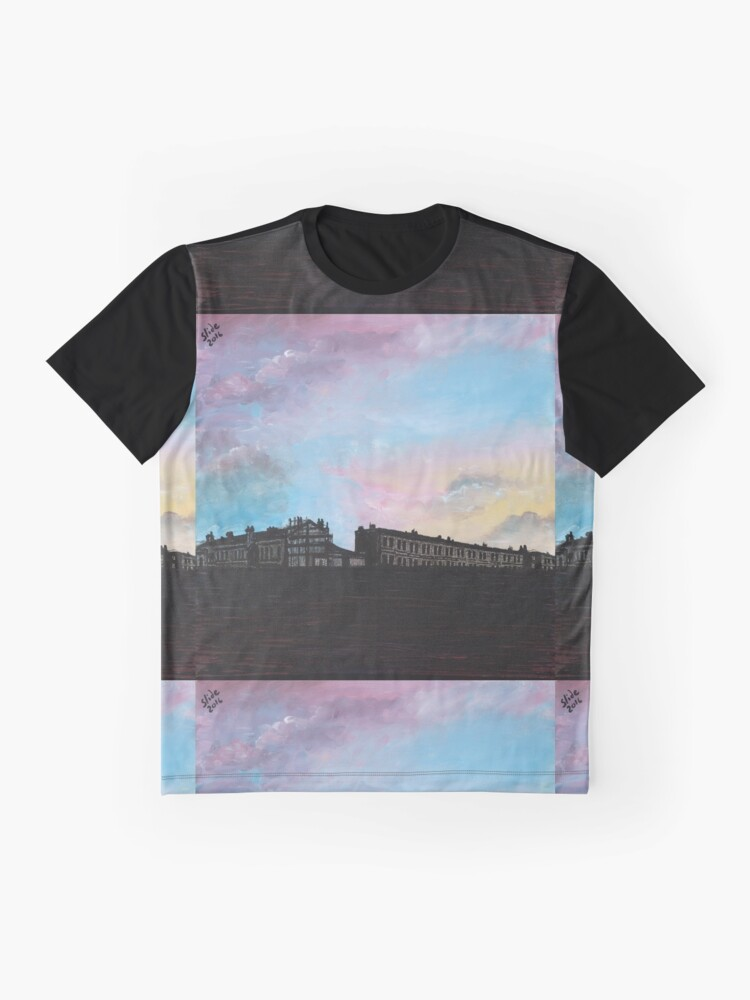 Alternate view of Priory Road at Dusk Graphic T-Shirt