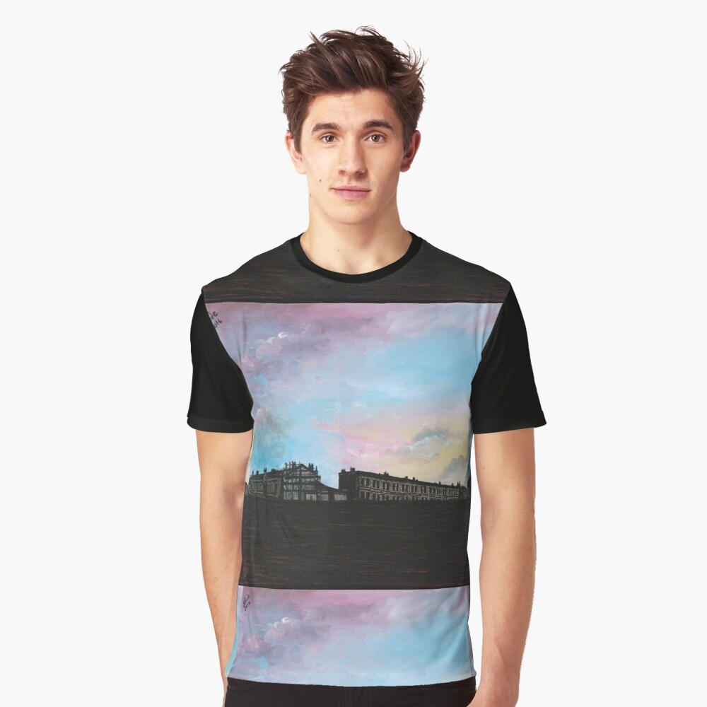 Priory Road at Dusk Graphic T-Shirt