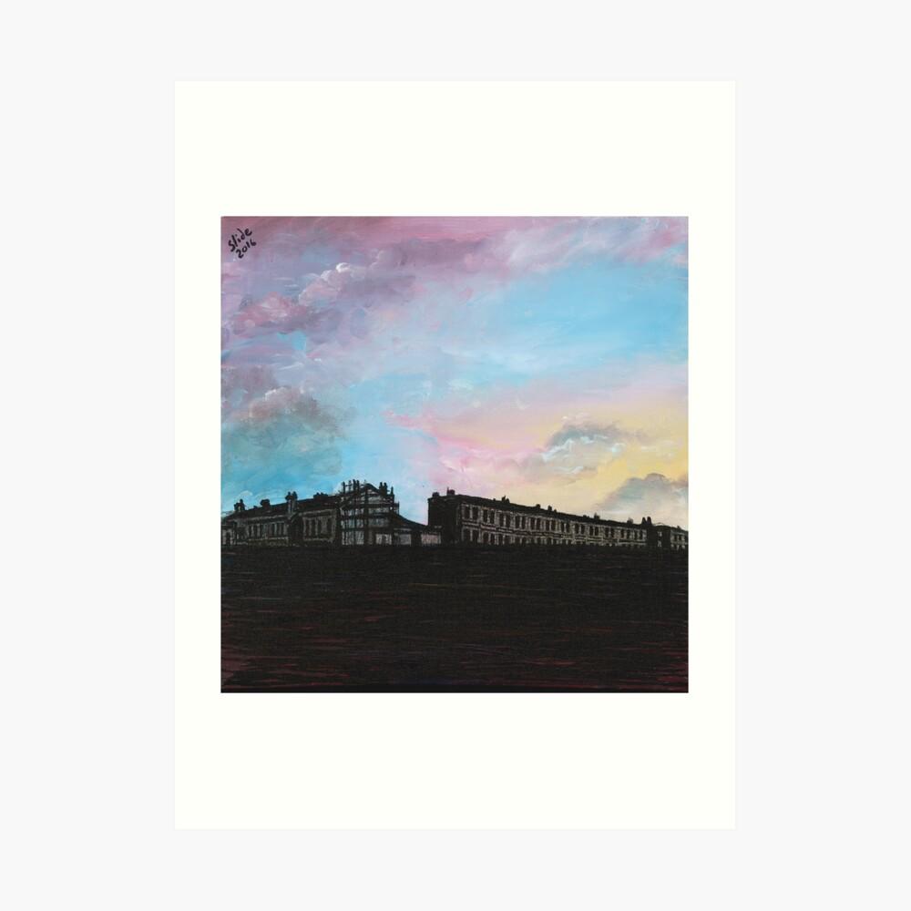 Priory Road at Dusk Art Print
