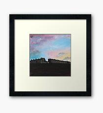 Priory Road at Dusk Framed Art Print