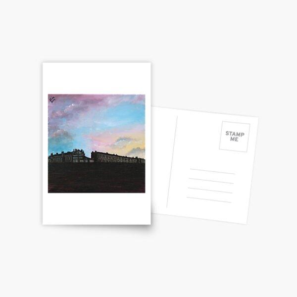 Priory Road at Dusk Postcard