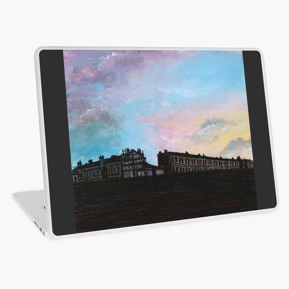 Priory Road at Dusk Laptop Skin