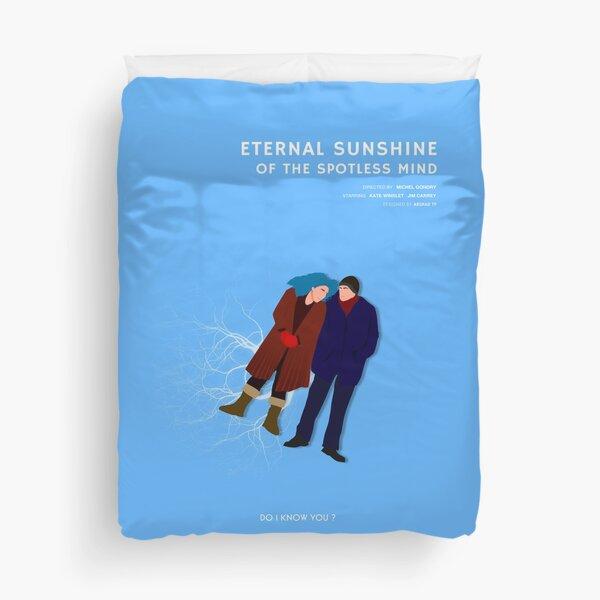 Eternal Sunshine of the Spotless Mind minimalist poster Duvet Cover
