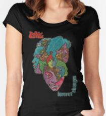 Love - Forever Changes + Logo Women's Fitted Scoop T-Shirt