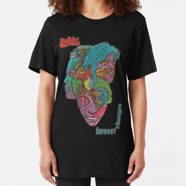 Love - Forever Changes + Logo Slim Fit T-Shirt