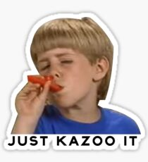 Just Kazoo It!  Sticker
