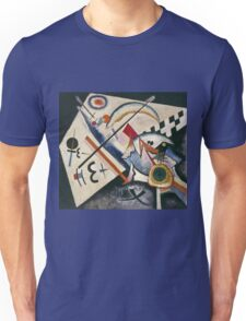 Kandinsky - White Cross Unisex T-Shirt
