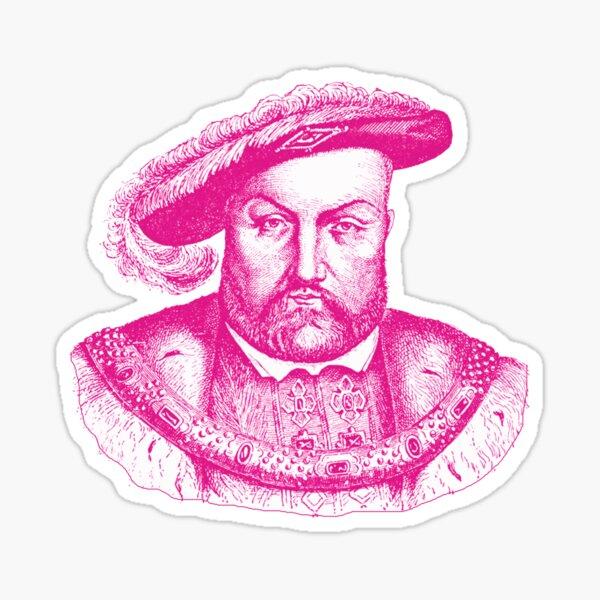 Pink Henry the Eighth VIII Sticker