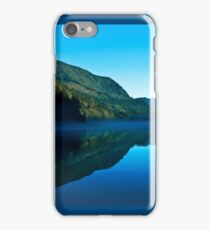 Gorilla Creek in the mist iPhone Case/Skin