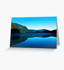 Gorilla Creek in the mist Greeting Card