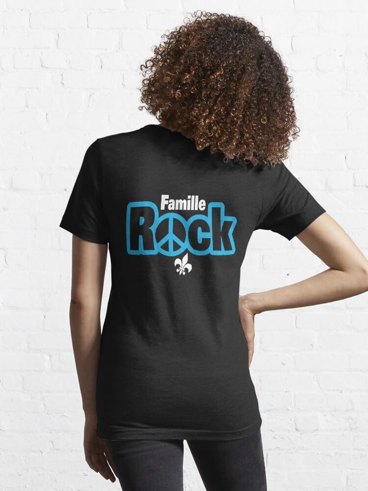 T-shirt essentiel ''Famille Rock Logo Boutique': autre vue