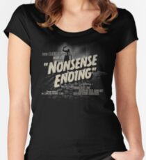 Nonsense Ending Women's Fitted Scoop T-Shirt