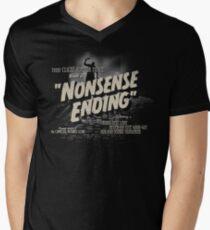 Nonsense Ending Men's V-Neck T-Shirt