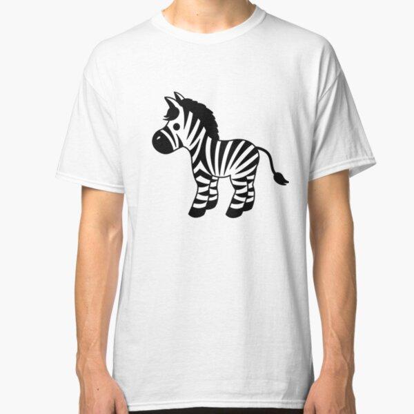 Mein niedlicher kleiner Zebra-Freund Classic T-Shirt