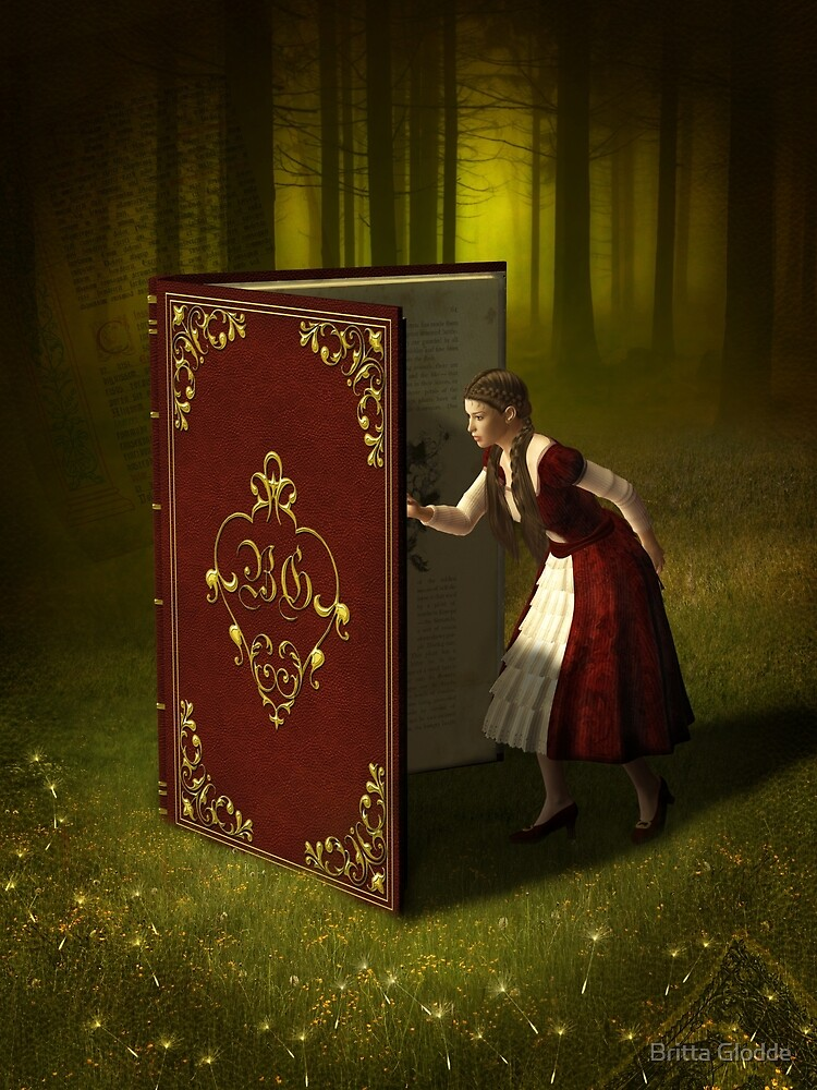Book of Tales and Secrets by Britta Glodde