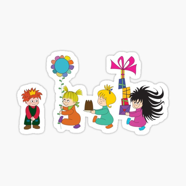 Geburtstagsprinz Sticker