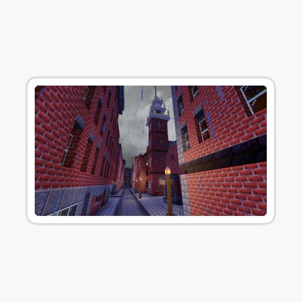 Salem Street - Boston, MA Sticker