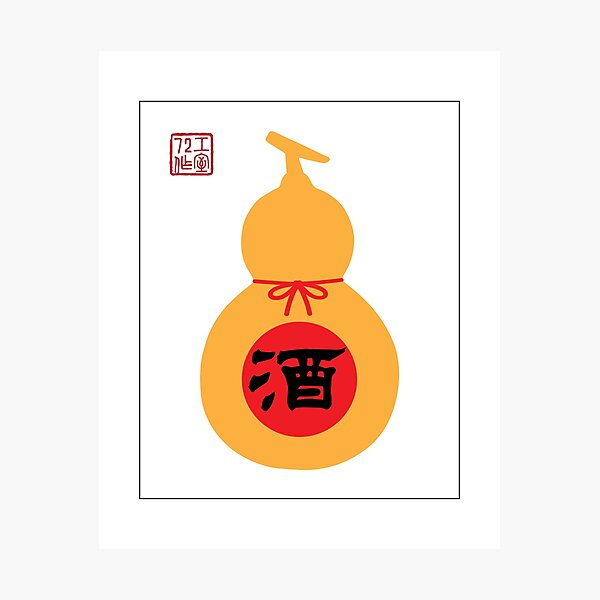 Chinese Wine Gourd (on white) Photographic Print