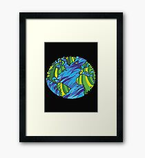 Earth, Planet Earth, Green Planet Framed Print