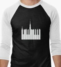 piano city Baseball ¾ Sleeve T-Shirt