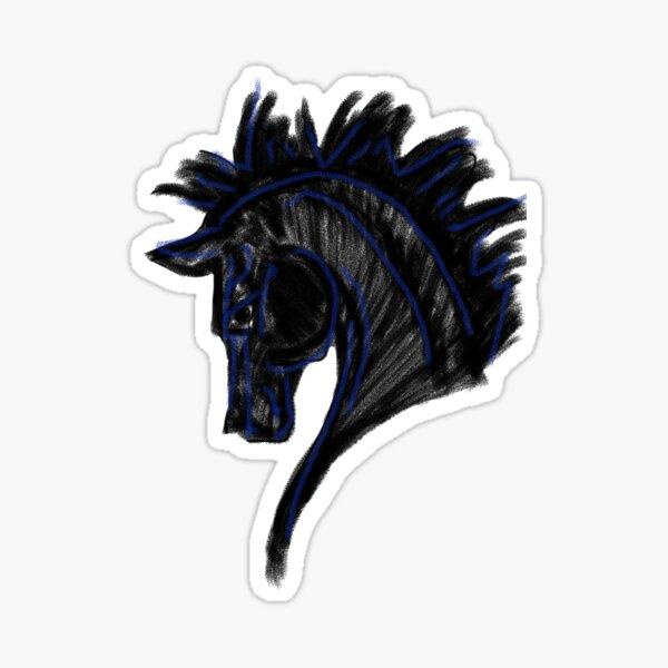The Black Stallion Sticker