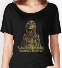 """Firefly: """"Curse your sudden but inevitable betrayal!"""" Women's Relaxed Fit T-Shirt"""