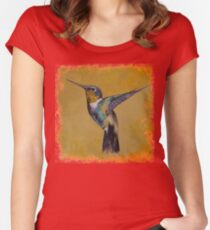 Hummingbird Women's Fitted Scoop T-Shirt