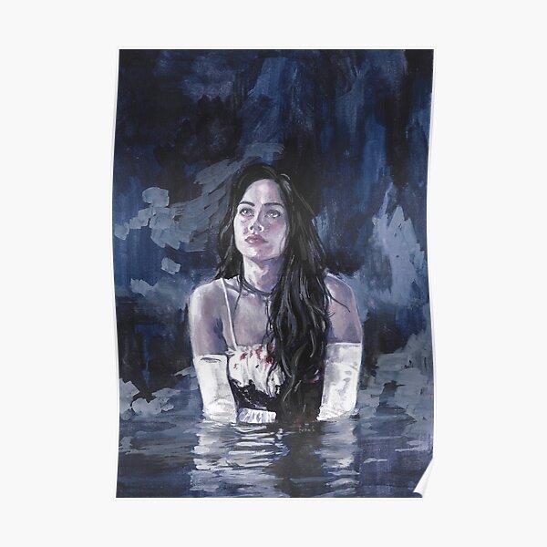 Jennifer's Body Gouache Poster