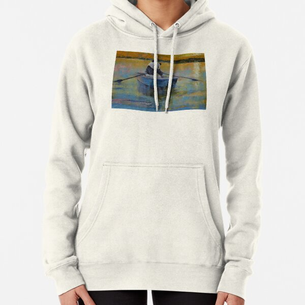 Panda Reflections Pullover Hoodie