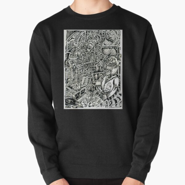 Electric Chair, or, a Shock to the System Pullover Sweatshirt