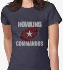 Kommandos stolz Tailliertes T-Shirt