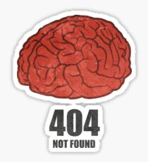 404 - Not found Sticker