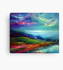 """""""Picnic For Two"""" Canvas Print"""