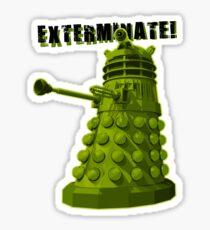 EXTERMINATE ARMY Sticker