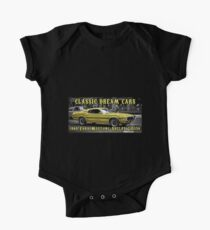 Classic 1969 Ford Mustang Shelby GT350 Muscle Car Kids Clothes