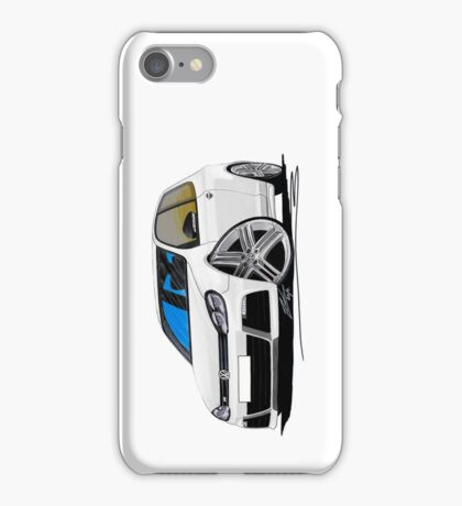 VW Golf (Mk6) R White iPhone Case/Skin