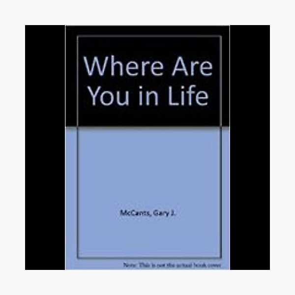 Where Are You In Life? Photographic Print