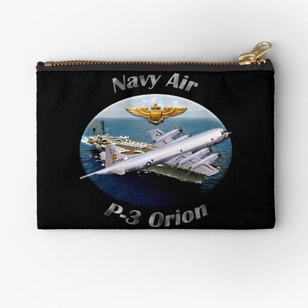 P-3 Orion Navy Air Zipper Pouch