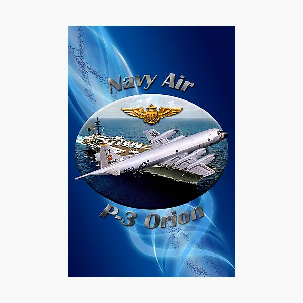 P-3 Orion Navy Air Photographic Print